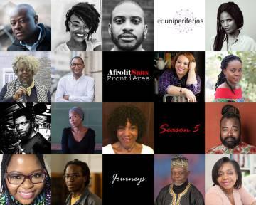 Imagen promocional de Afrolit Sans FRontières.