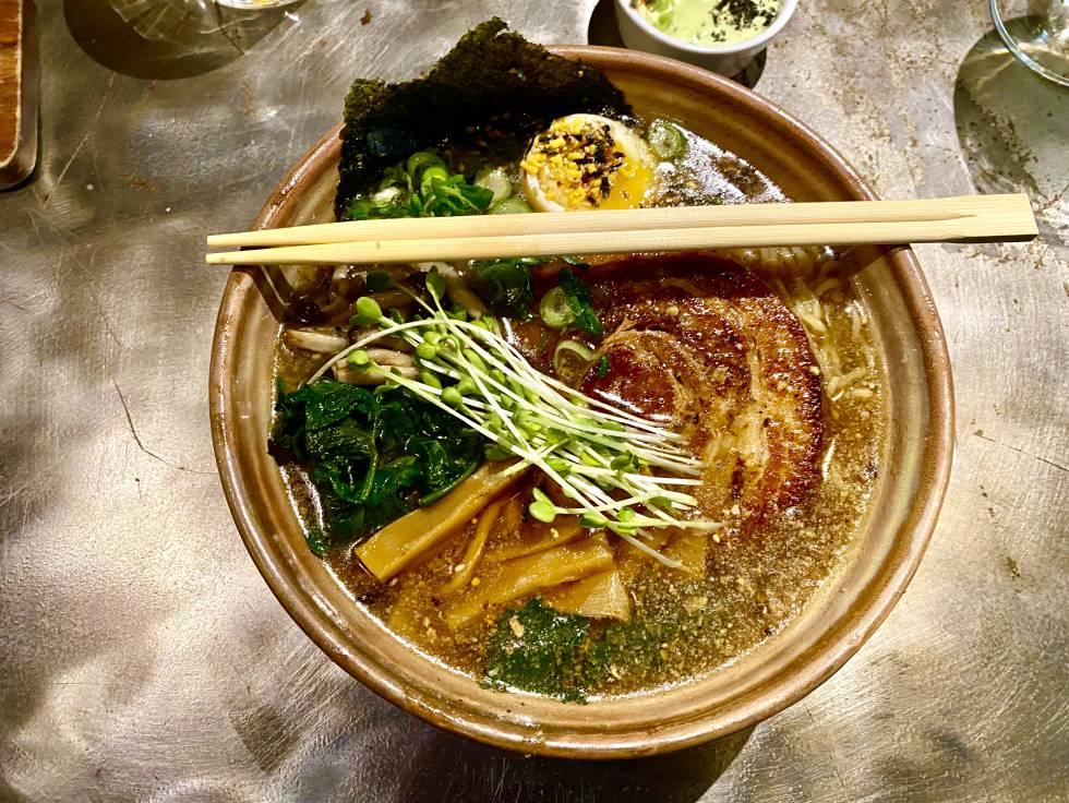 Tokio Sohyu, at the Chuka Ramen Bar restaurant. JC CAPEL