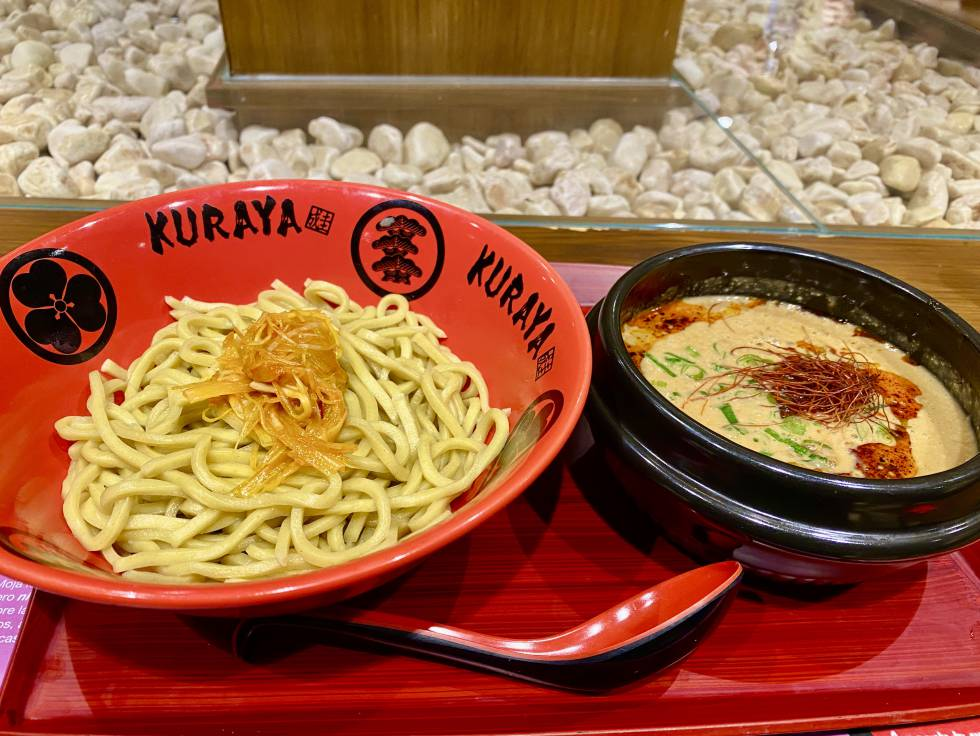 Ramen Tsukumen, at the Kuraya restaurant.  JC CAPEL
