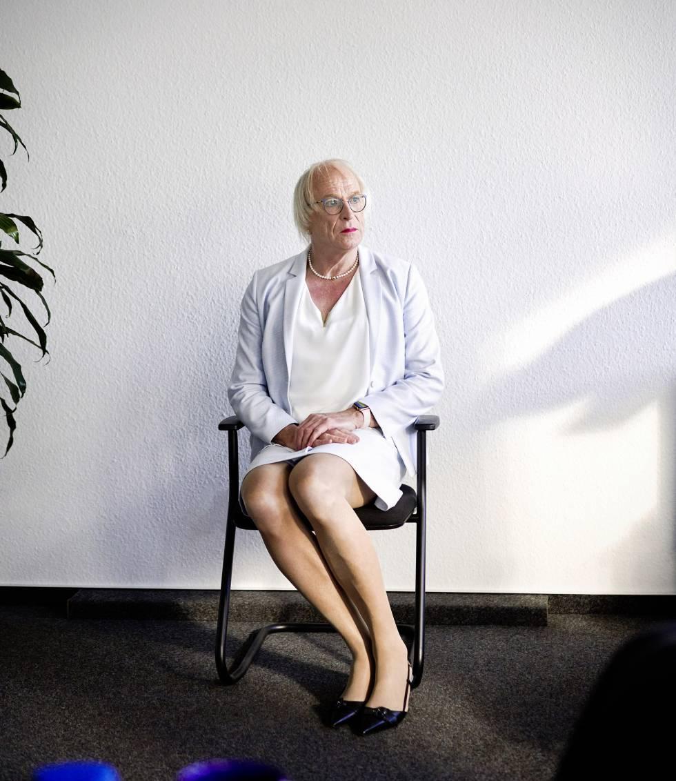 Kellermann en la sede de la cadena WDR en Essen, al oeste de Alemania.