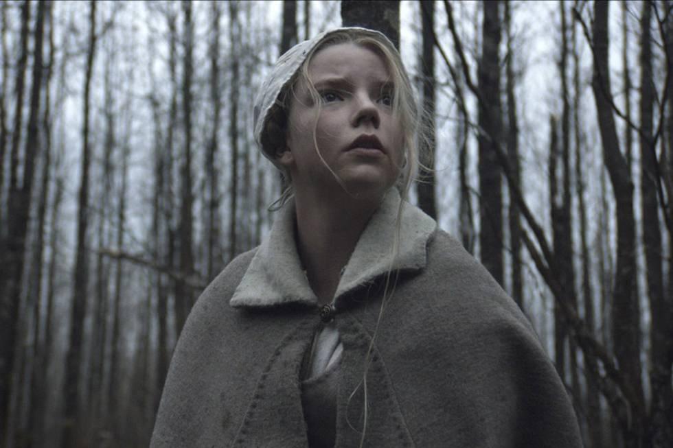 Fotograma de 'La bruja', dirigida por Robert Eggers (2015) y el primer trabajo en cine de Taylor-Joy.