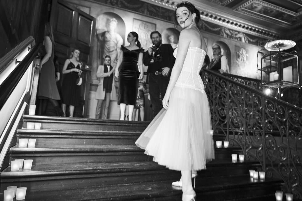 La actriz, durante la gala de los Premios Bafta del cine británico de 2018, en el palacio de Kensington.