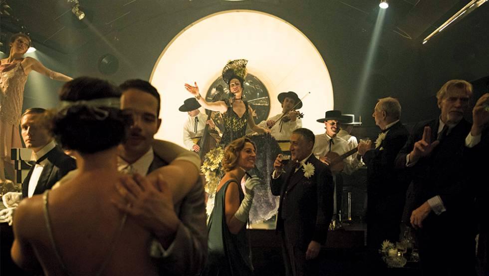 Secuencia de 'Babylon Berlin' rodada en la sala Delphi Stummfilmkino.