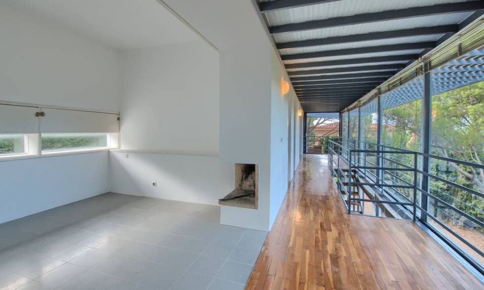 Interior of the House in Begur (Barcelona), by Pep Llinás.