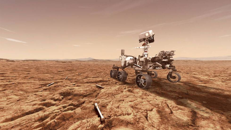 Fotos: La llegada del 'Perseverance' a Marte, en imágenes | Actualidad | EL  PAÍS