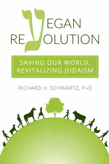 El autor se confiesa practicante devoto del judaísmo y a la vez adalid y activista en pro del veganismo
