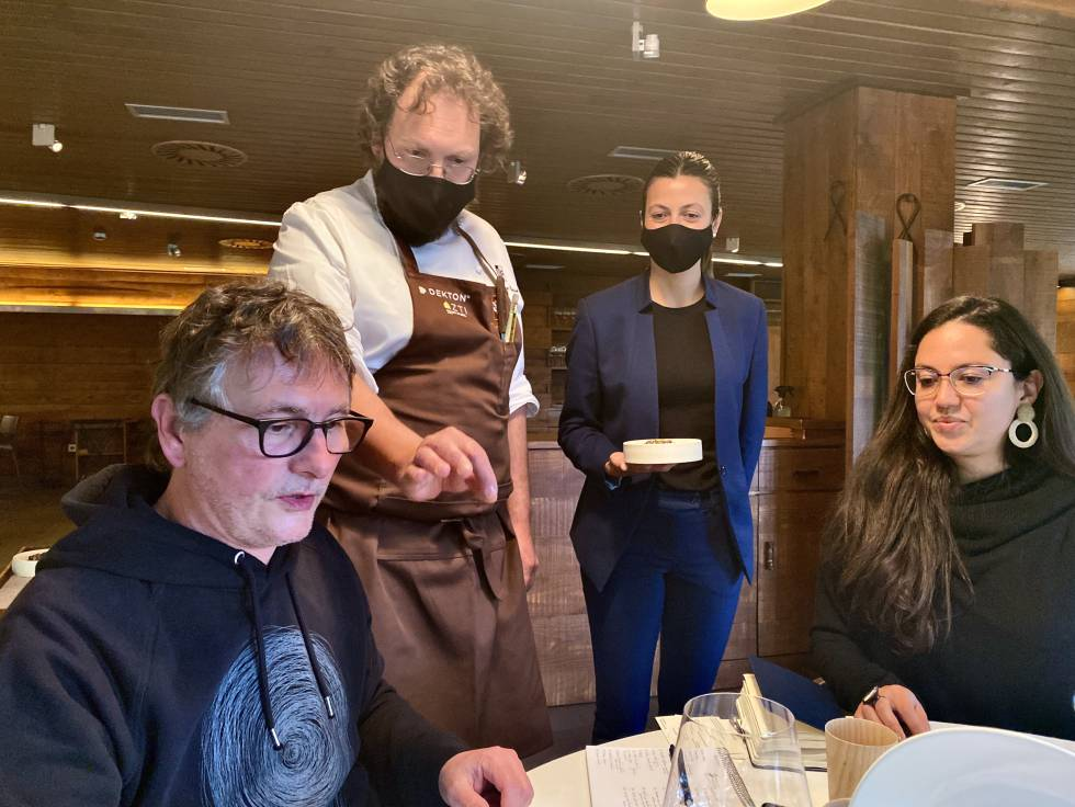 Andoni Aduriz, Ramón Perisé y Sasha Correa. J.C. CAPEL