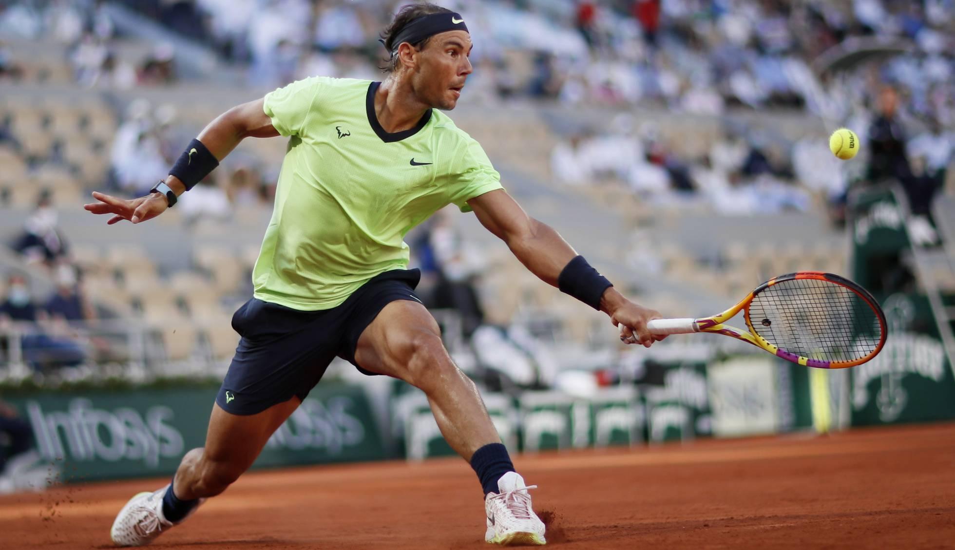 Djokovic Nadal 2021 Roland Garros Semi Finals In Footage Eauc News