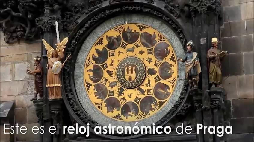 El reloj astronómico de Praga, un prodigio del tiempo