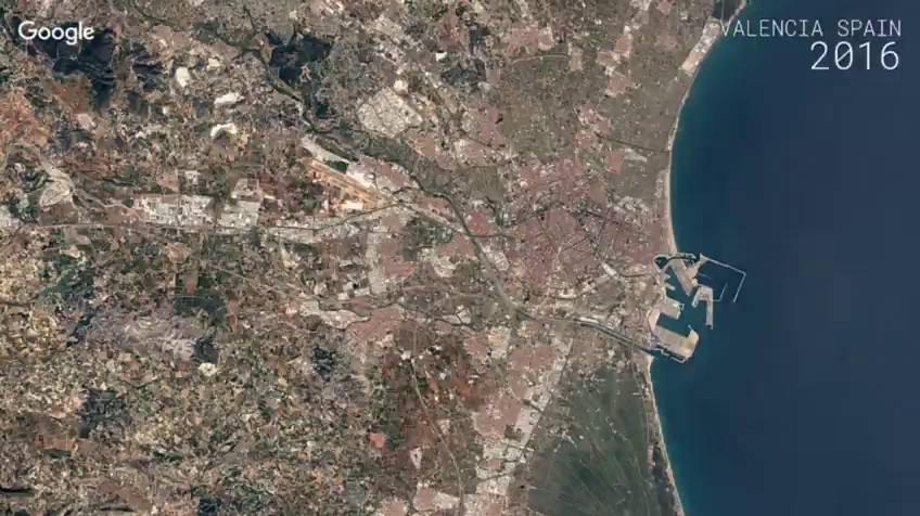 Así se ve desde el espacio cómo han cambiado las ciudades europeas en 32 años