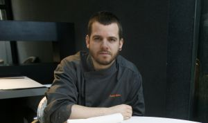 El chef David Muñoz, en el restaurante Diverxo, en Madrid.
