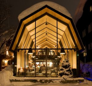 The Barn, en Niseko (Japón).