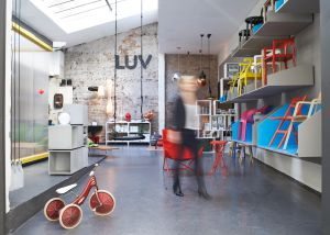 Interior de Luv, 'concept shop' en Hamburgo.
