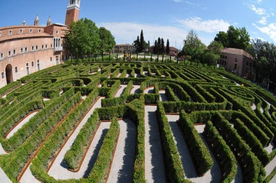Perderse en el laberinto de Borges, en Venecia
