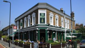 Restaurante The Bollo, en Chiswick.