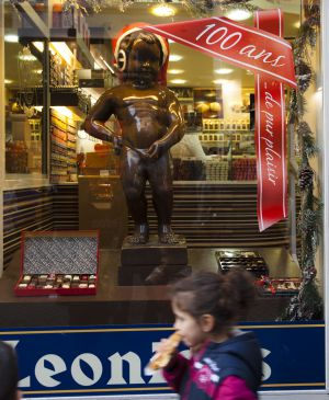 The Belgian manufacturer Leonidas, creator of the praline, celebrates the centenary of his birth this year.