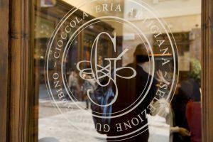 Guido Gobino chocolate shop in Turin (Italy).