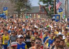 El emotivo maratón de Boston
