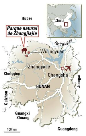 A paisagem chinesa de 'Avatar'