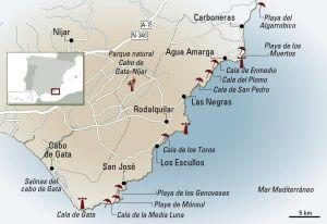 Playas De Cabo De Gata En Almería Cabo De Gata De Cala En Cala El Viajero El País