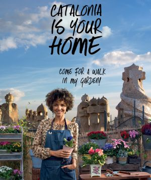 Cartel promocional de Cataluña, 'is your home' (Es tu casa).