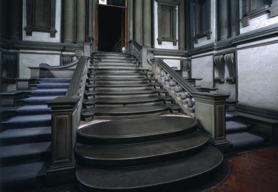 Escalera hacia el para so el viajero el pa s - Escalera de biblioteca ...