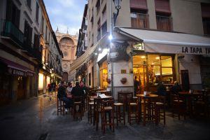 Tapas gratis en Granada.