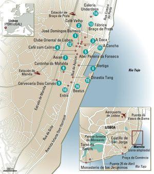 marvila lisboa mapa Viajar a Portugal: Marvila, o bairro secreto de Lisboa | El  marvila lisboa mapa