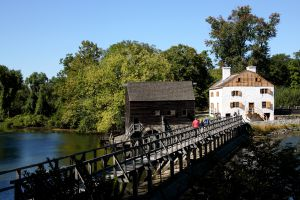 Molino de Philipsburg Manor, en Sleepy Hollow (Nueva York).