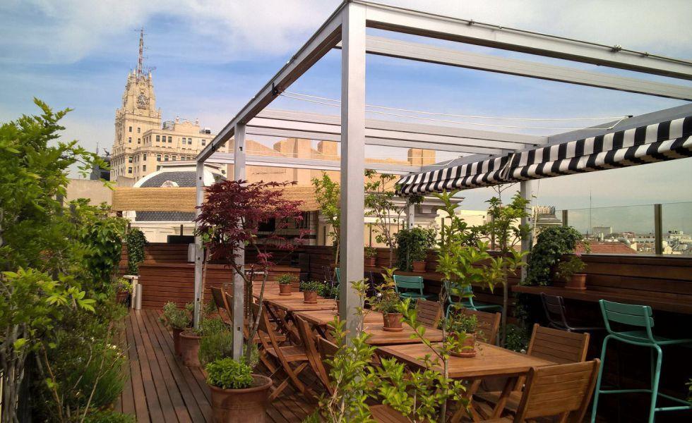 Fotos las 25 mejores terrazas de madrid el viajero el - Atico las tablas ...