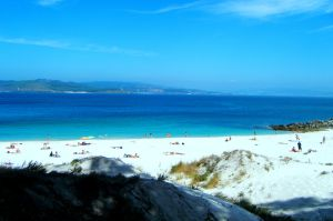 Rodas Beach on the Cies Islands (Galicia).