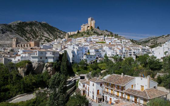 Panorámica de Vélez Blanco, en la provincia de Almería.
