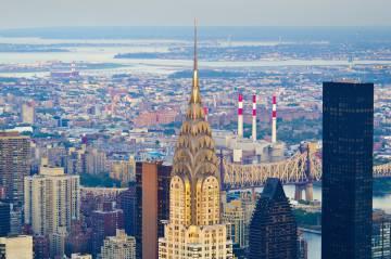 el edificio chrysler de en nueva york