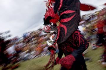 Festival de Diablos y Congos en Portobelo, en Panamá.