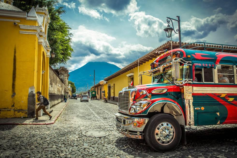Antigua, barroco en Guatemala
