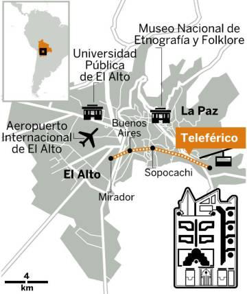 Brillo lisérgico en El Alto