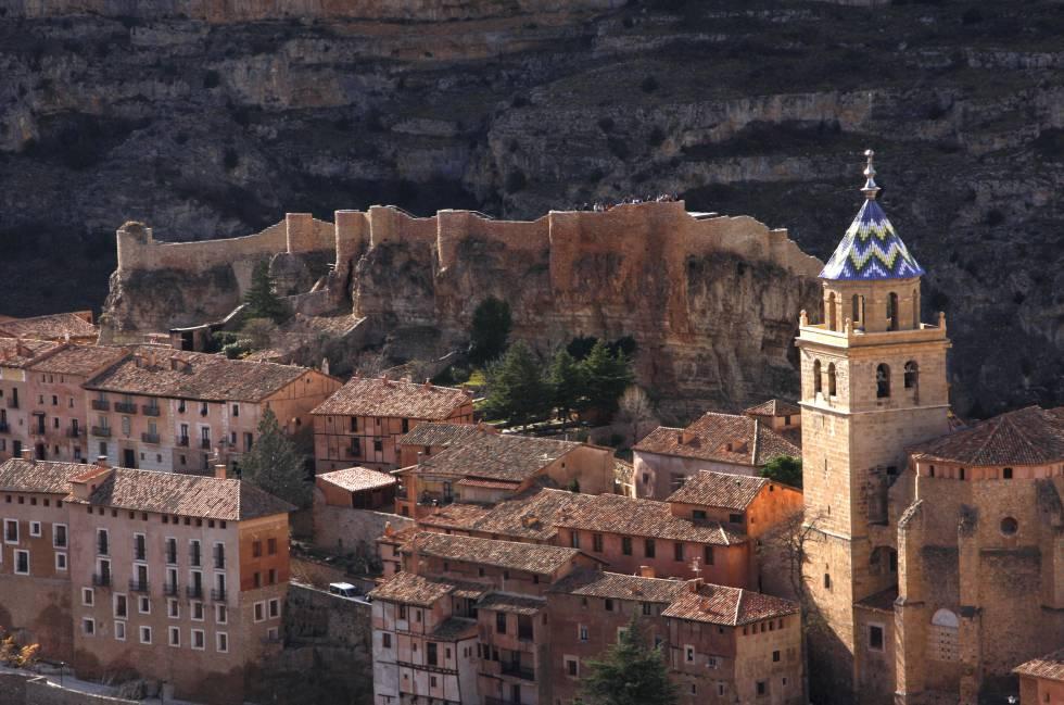 El casco urbano de Albarracín (Teruel), donde el jueves 8 de junio se celebró la Asamblea Internacional de la Federación de los Pueblos Más Bonitos del Mundo.