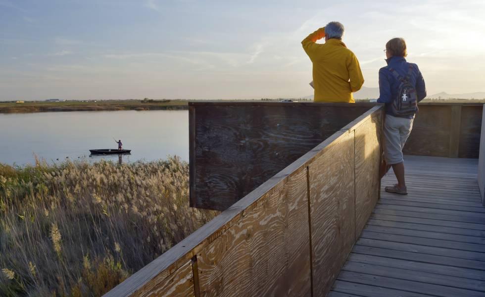Por el Delta del Ebro en bici