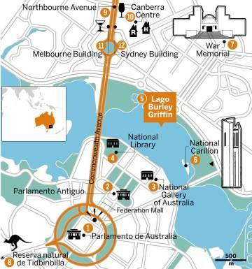 Canberra, el corazón de Australia