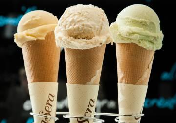 Sorbetes de la heladería dellaSera, en Logroño.