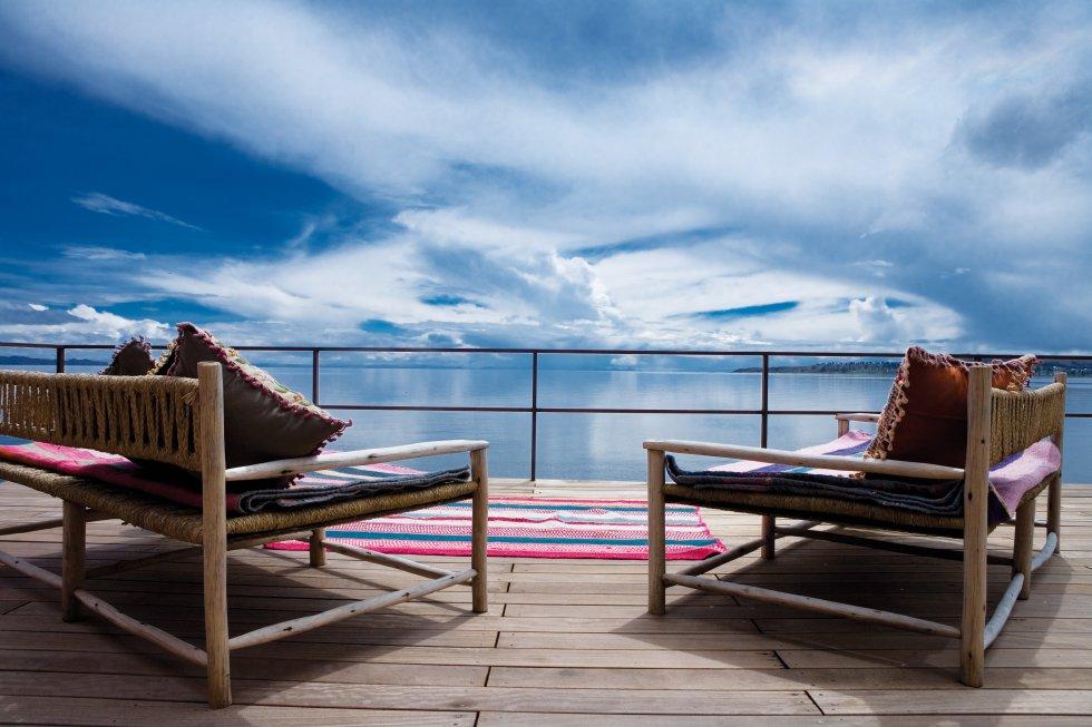 Puede que el hotel en sí no sea comparable a otros de esta lista, más palaciegos y dados al organdí. Aquí el lujo estriba en su aislamiento geográfico, al borde del Titicaca, el lago navegable más alto del mundo y el mayor en tamaño de América del Sur. Desde este hotel se organizan excursiones a las islas flotantes de los uros. Teléfono: +51 1 7005106. titilaka.pe