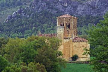 San Pedro de Tejada, en Valdivielso (Burgos).