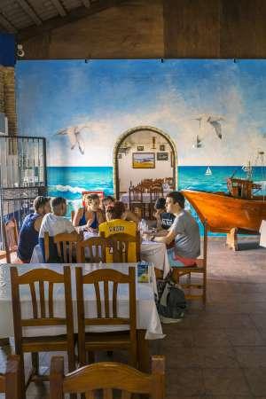 Restaurante Caño Chanarro.