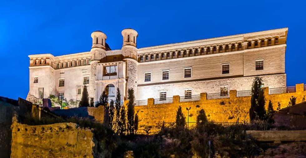 Hospedería Castillo del Papa Luna, vistas desde un espolón mudéjar