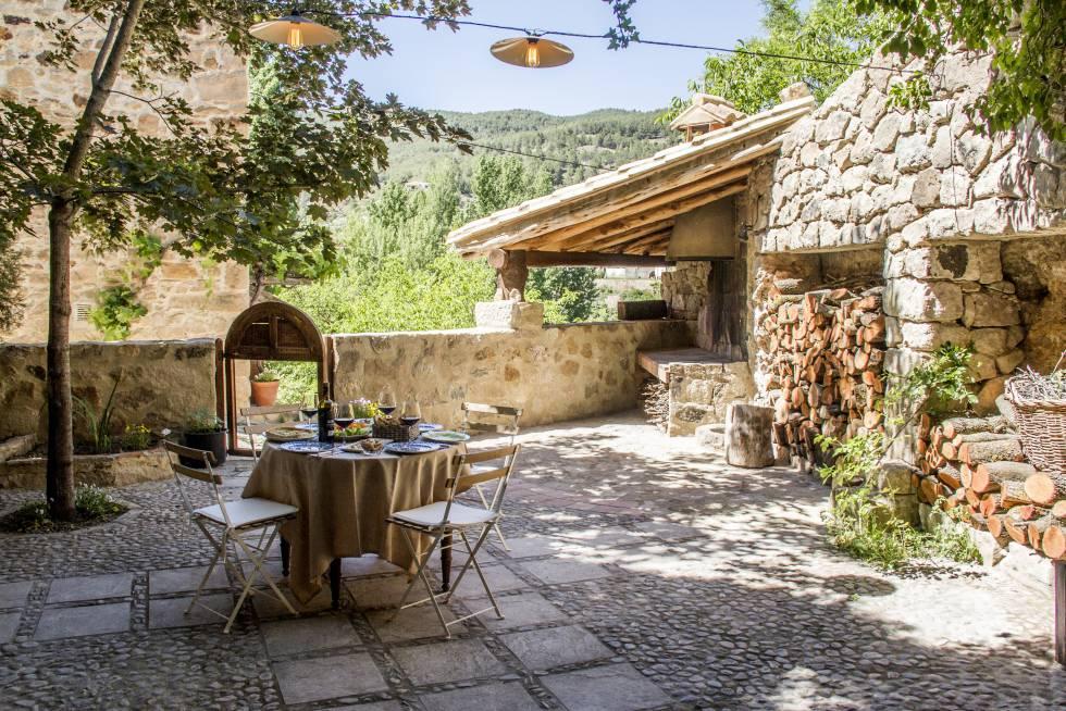 Siete casas rurales c lidas para el oto o el viajero - Pisos con encanto madrid ...