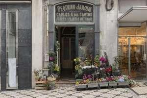 Floristería Pequeno Jardim, en Lisboa.