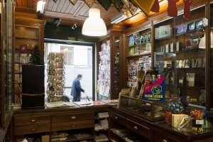 Tienda de tabaco Martins, en Lisboa.
