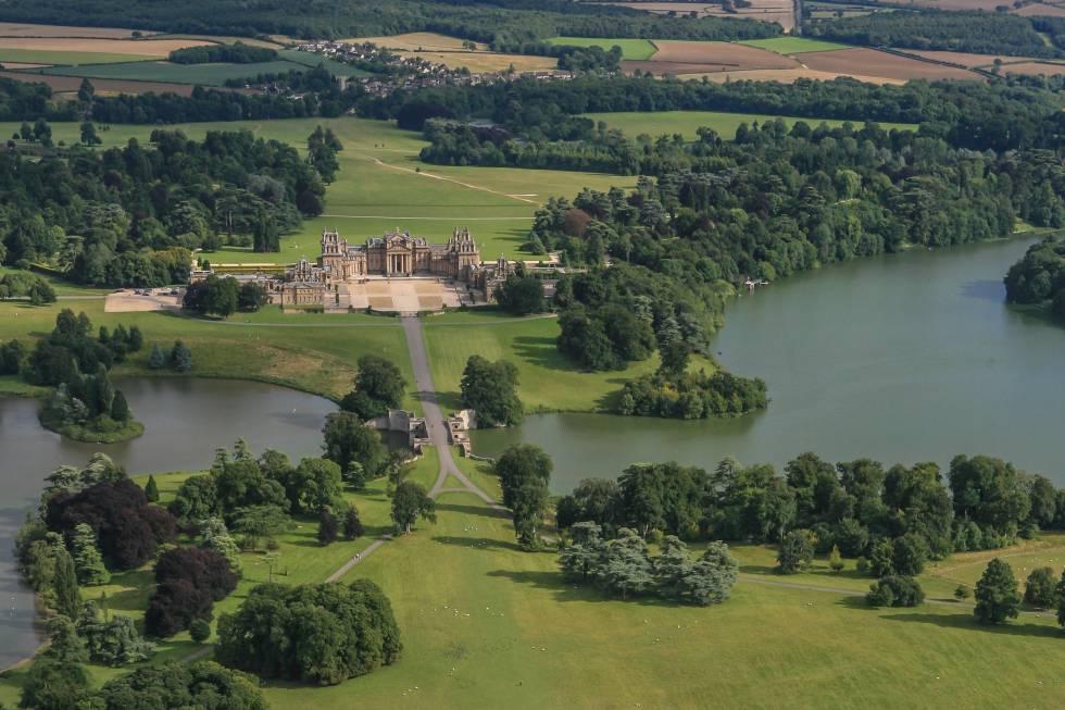 Blenheim palace naturaleza perfeccionada el viajero for Como hacer una laguna artificial para peces
