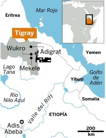 Plegarias al borde del filo en Etiopía