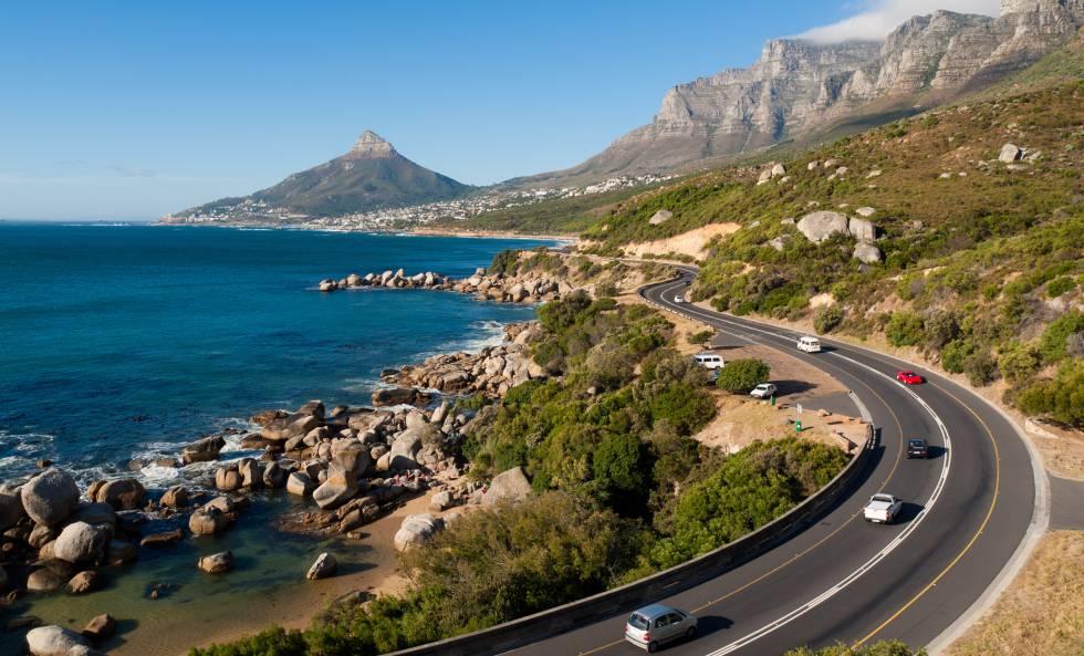 Panorâmica da Garden Route, na costa sul da África do Sul.